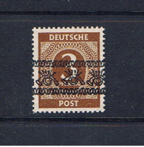 GERMANY 1948 ALLIED OCCUPATION 3pf INVERTED OVERPRINT