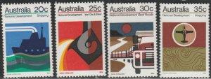 Australia #550-553 MNH Full Set of 4 cv $6.50