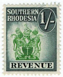 (I.B) Southern Rhodesia Revenue : Duty Stamp 1/-