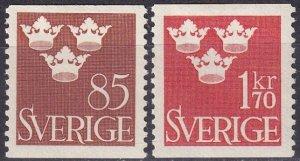 Sweden #425-6  F-VF Unused  CV $7.00 (Z5307)