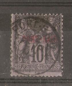 Port Said 1899 10c SG107 Fine Used