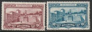 San Marino Sc 108-109 MH
