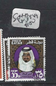 QATAR  (PP2306B)  SHEIKH  SG 447, 449   VFU