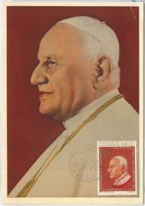 57337  - VATICANO Vatican - POSTAL HISTORY: MAXIMUM CARD 1964 -  Religion