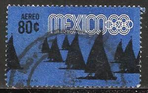 Mexico Air Mail 1968 Scott# C335 Used