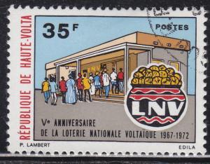Burkina Faso 281 National Lottery Office 1972