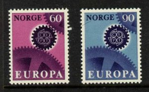 Norway 504-5 MNH EUROPA