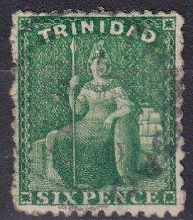 Trinidad #53a  F-VF Used  CV $9.00  (Z1583)
