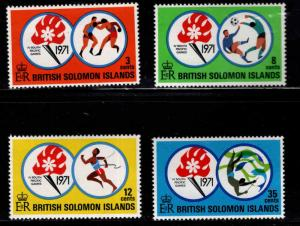 British Solomon Islands Scott 222-225 MNH** set