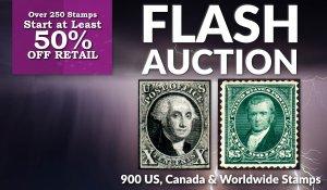 Flash Stamp Auction #162