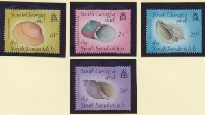 South Georgia (and the South Sandwich Islands) Stamps Scott #127 To 130, Used...