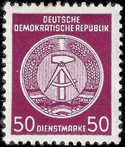Germany DDR 1956 Sc O19, Mi D35 MNH