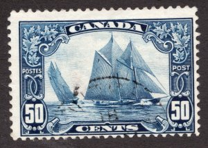 #158 - Canada - 50c - 1929 - Bluenose - Used F -  superfleas -