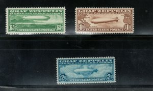 USA #C13 #C14 #C15 Very Fine Mint Fresh Set