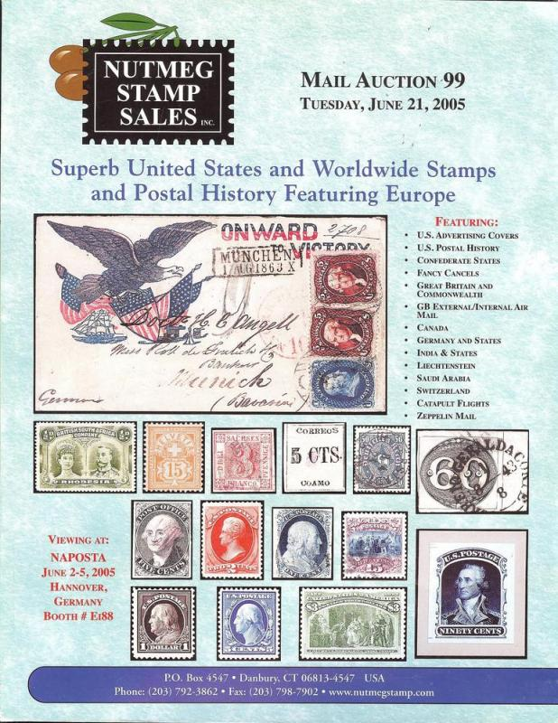 Nutmeg Stamp Sales - Superb United States and Worldwide S...