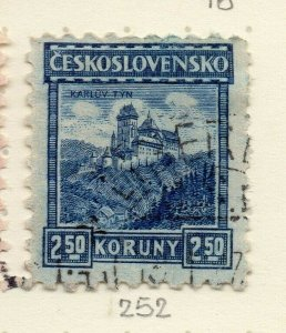 Czechoslovakia 1926-27 Issue Fine Used 2.50k. NW-148607