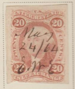 U.S. Scott #R42a Revenue Stamp - Used Single