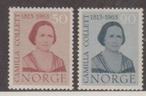Norway Scott #431-432 Stamps - Mint NH Set