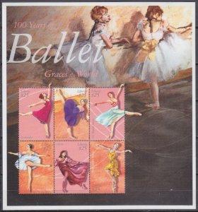 2001 Liberia 3579-3584KL Ballet 12,00 €