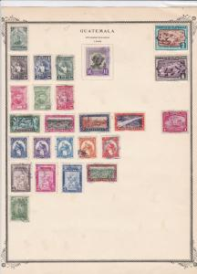 guatemala stamps page ref 17217