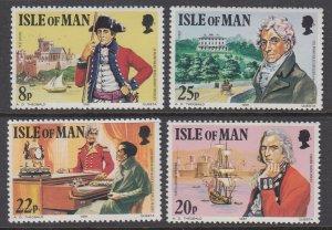 Isle of Man 193-196 MNH VF