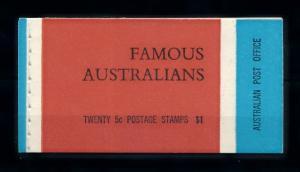 [74545] Australia 1968 Famous Australians Artist Poet Social Worker Booklet MNH