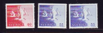 Sweden Sc 886-8 1971Terns Refugees stamp set mint NH