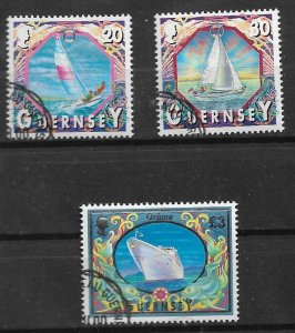 GUERNSEY 2000 used with gum set Oriana and otherss SET