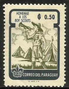 Paraguay 1962 Scott# 642 MH