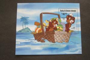 Turks & Caicos 1981 Sc 480 Disney set MNH