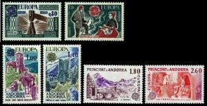 1976-77 Andorra, French Administration Europa - OGNH - VF - CV$21.50 (ESP#4256)