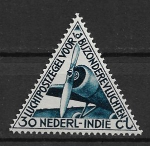 1933 Netherland Indies C18 Airplane MNH