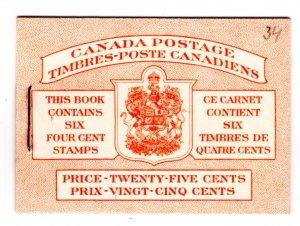 BK45 (Bilingual), Queen Elizabeth, Karth Issue, 1953, Canada, pane of 6, 328b