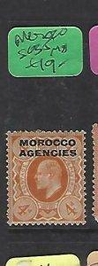 MOROCCO AGENCIES  (P2308B)  KE 4D  SG 35   MOG