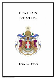 Italia Italian States 1851-1868 PDF (DIGITAL) STAMP ALBUM PAGES