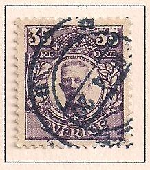 Sweden 87 Used - King Gustaf V