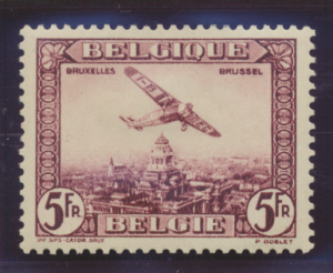 Belgium Stamp Scott #C4, Mint Hinged - Free U.S. Shipping, Free Worldwide Shi...