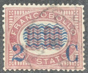 DYNAMITE Stamps: Italy Scott #44 – USED