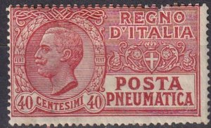 Italy #D8  F-VF Unused  CV $27.50 (Z7841)