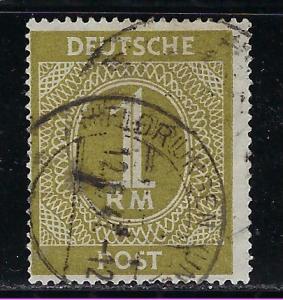 Germany AM Post Scott # 556, used