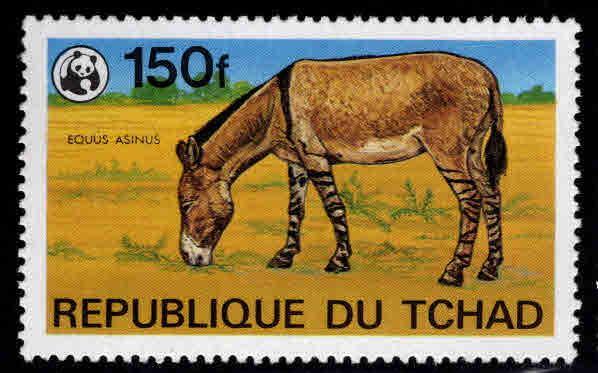 Chad TCHAD Scott 371 MNH** WWF stamp