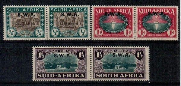 South West Africa Scott B9-11 Mint NH (Catalog Value $69.00)