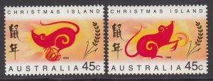 Christmas Island 376-277 MNH VF