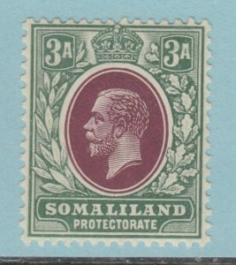 SOMALILAND 55  MINT  HINGED OG *  NO FAULTS VERY FINE!1912 - 1919