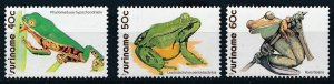 [I2233] Suriname 1981 Frogs good set of stamps very fine MNH