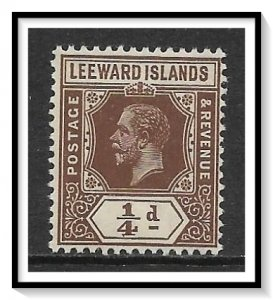 Leeward Islands #46 KG V MH