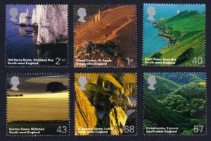 Great Britain A British Journey: South West England 6v 2005 MNH SG#2512-2517