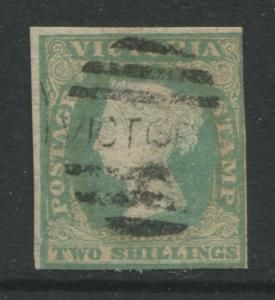 Victoria 1854 2/ green used