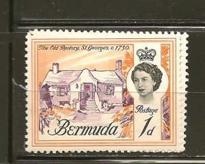 Bermuda 175 Old Rectory Mint Hinged