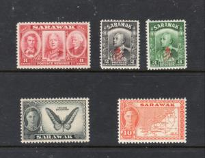 Stamps from SARAWAK